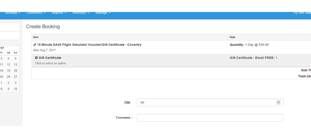 Help - Add a gift certificate